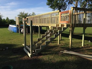 Dog Dock Diving Stairs at Southtown K9