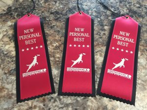 Southtown K9 Personal Best Ribbons